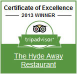 TripAdvisor Certificate of Excellence - 2013