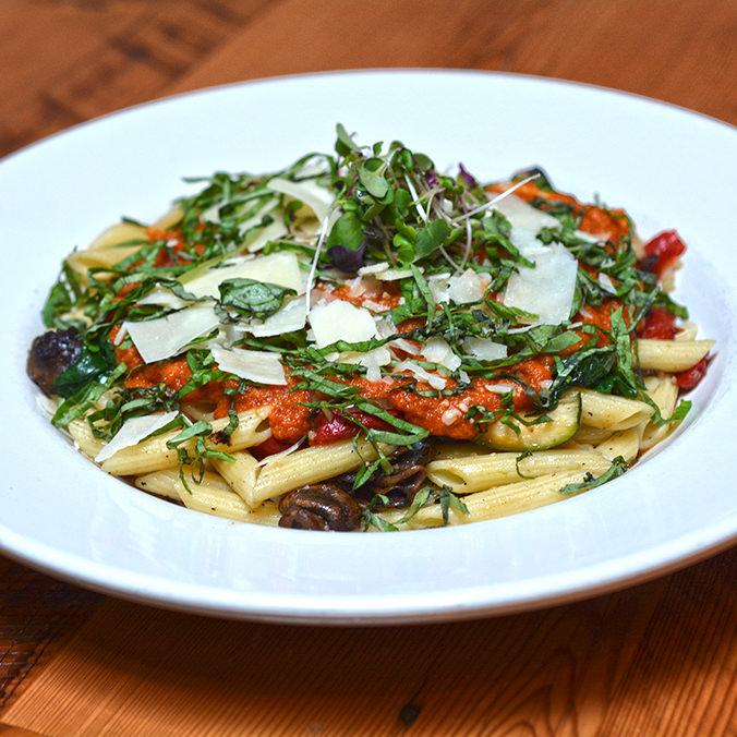 Summer Vegetable Penne Pasta