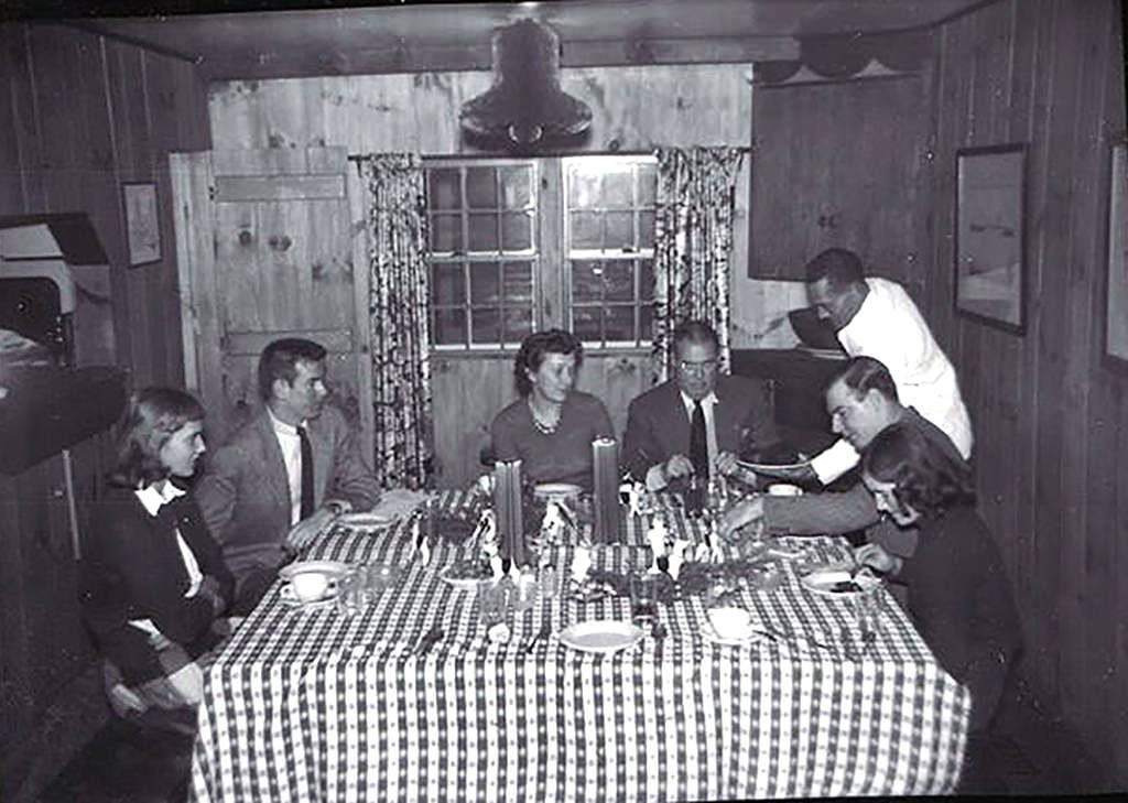 Dinner at Ulla Lodge, Served by Sam Hall