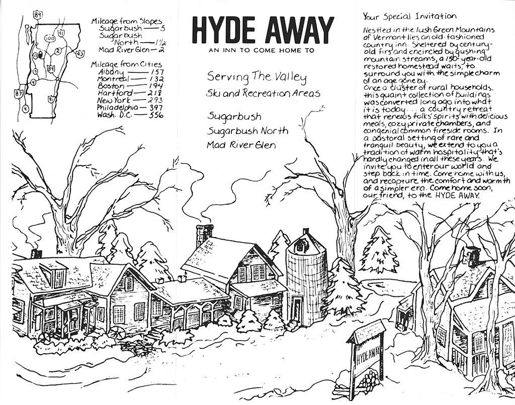 Early Hyde Away Brochure