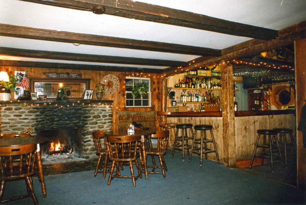 Hyde Away 1990s - Tavern Fireplace