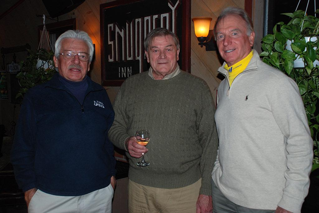 Jack Lonsdale, Walter Hensen, Sigi Grottendorfer