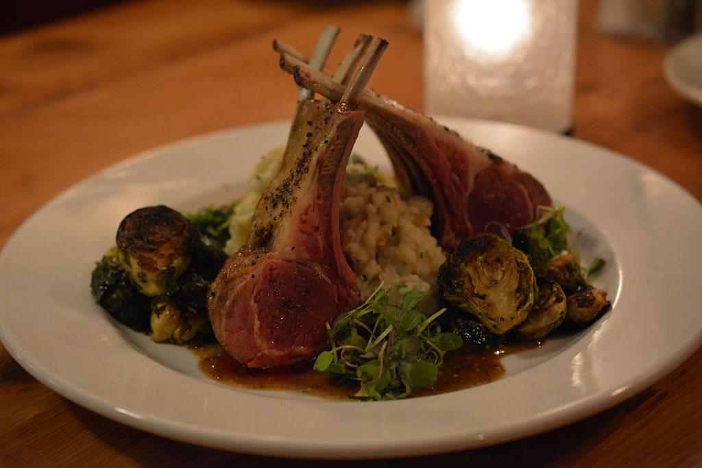 Herb Rubbed Roast Rack of Lamb