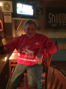 Tom Kerr & his Christmas Sweater