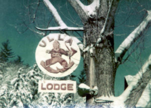 Ulla Lodge Sign